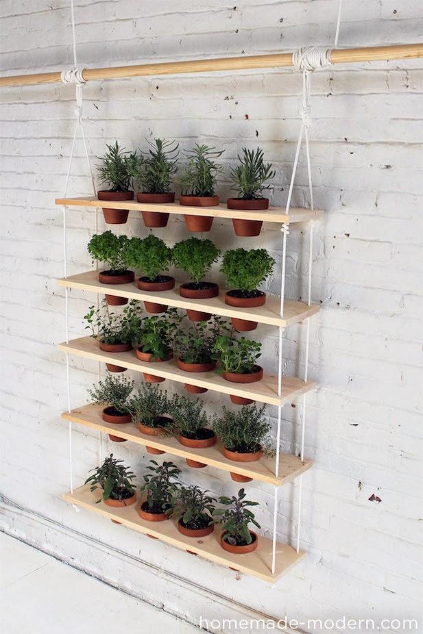 10 ideas para jardines verticales for Jardines verticales para balcones