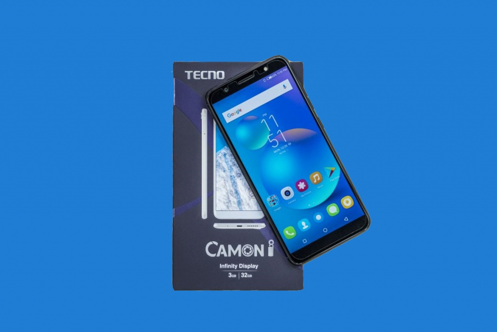 Tecno Camon i Launched With 18:9 Full Screen Display