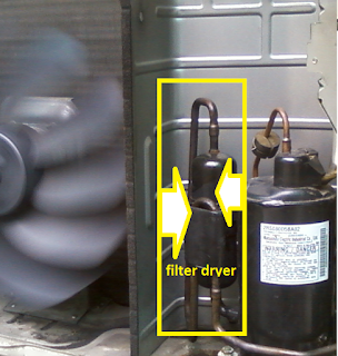 filter dryer / orifice tube