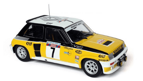 WRC collection 1:24 salvat españa, Renault 5 Turbo 1:24