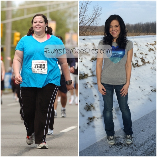 132 pound weight loss comparison photo