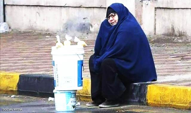 سيدة المطر نصابة مفاجاءة تفجرها وزارة التضامن الإجتماعي