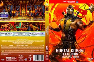 Caratulas Mountain Mortal Kombat Legends La Venganza De Scorpion Mortal Kombat Legends Scorpion S Revenge 2020 Dvd Cover