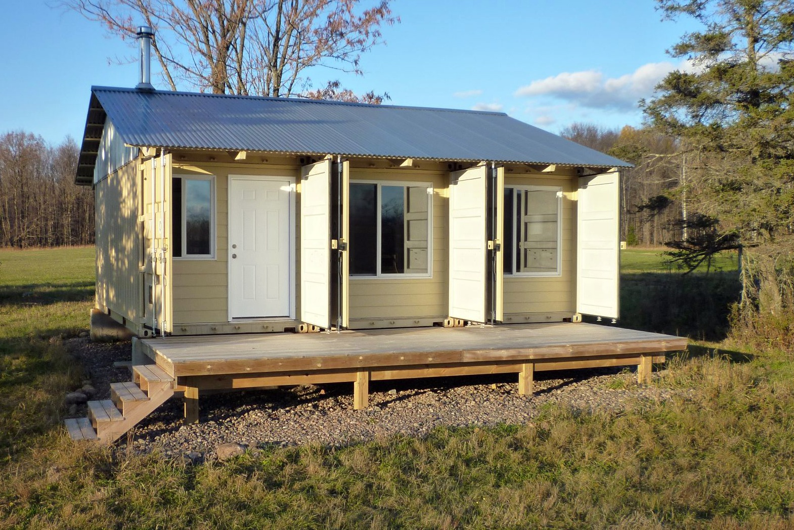 Sense And Simplicity Shipping Container Cabin Update