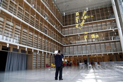 Με ψηφιακά «όπλα» η Εθνική Βιβλιοθήκη στο Φάληρο