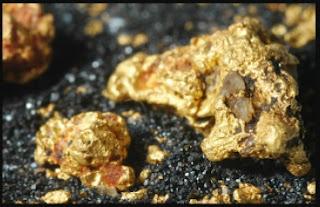ouro na matriz de magnetita, RS-BRASIL