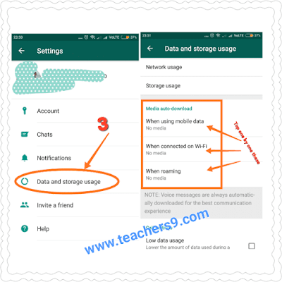 How to Stop Auto Downloading and Saving of Pictures, Videos and Other Media on Whatsapp for Android phone