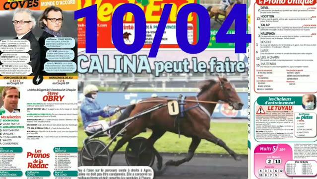 Pronostic quinté+ pmu du samedi Paris-Turf TV - 100 % 10/04/2021