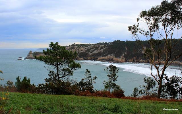 Playa Barayo en Navia-Asturias