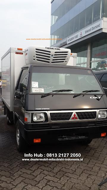 showroom mitsubishi - colt l300 - colt diesel - fuso - box pendingin - 2020