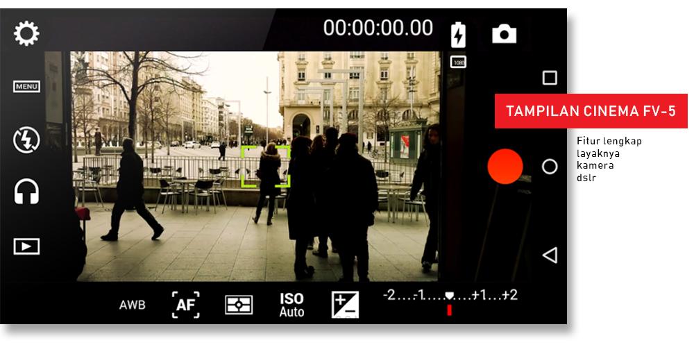 Aplikasi Perekam Video Cinema FV-5