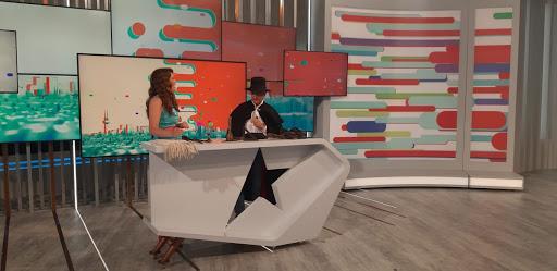 El Zorro Corredero en Está Pasando. TeleMadrid Julio 2021