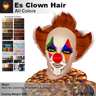 https://marketplace.secondlife.com/p/AA-ES-Clown-Hair-All-Colors-boxed/18103274