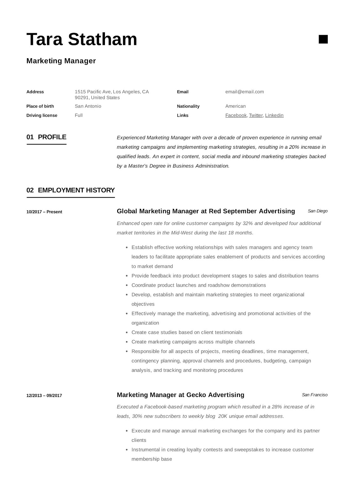 marketing manager cv example, marketing manager cv example 2018, marketing manager cv examples uk, marketing manager cv example uk, marketing communications manager cv examples, assistant marketing manager resume examples, trade marketing manager resume examples, sales and marketing manager cv example