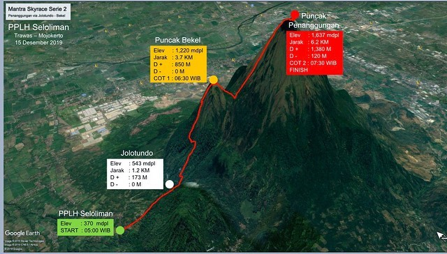 Map - Mantra Skyrace 2 • 2019