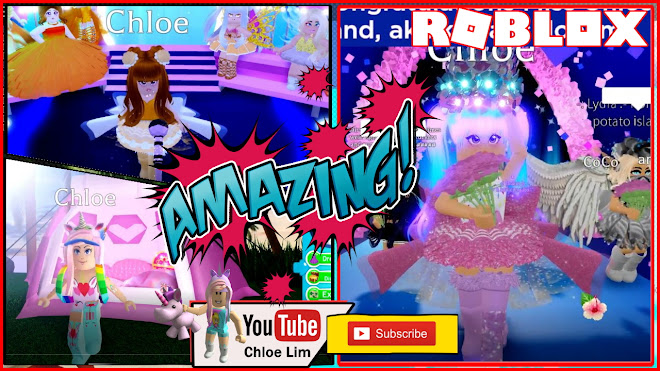 Roblox Royale High Gameplay! Location of 3 Chest in Sunset Island! Entering the Royal Universe Pageant Contest!