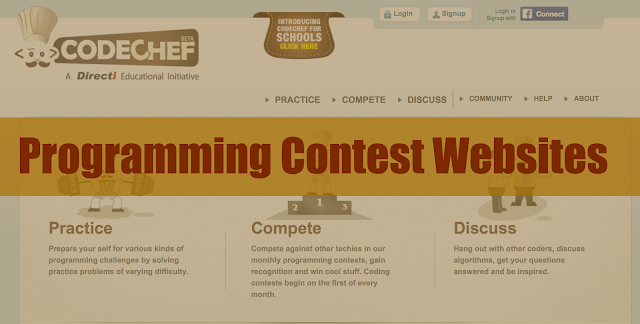 6662f0d434 List of Coding Competition Websites