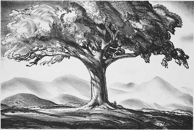 Rockwell Kent 1928, a tree