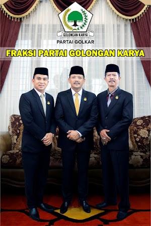 Ramadhani, Taufiq, Hendra, Pimpin Fraksi-Fraksi DPRD Kota Solok