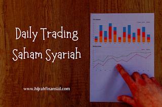 daily trading saham syariah