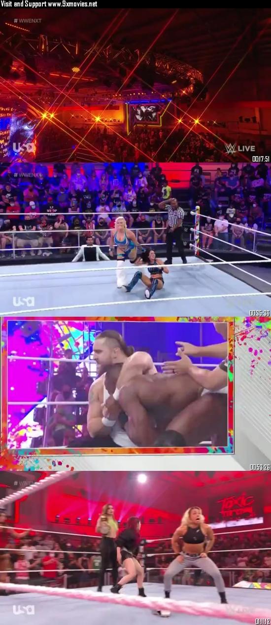 WWE NXT 03 October 2021 WEBRip 480p 350MB
