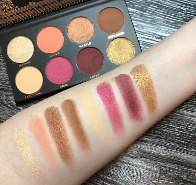 Ace Beaute Grandiose Palette Review and Swatches