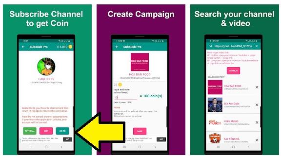 تطبيق جديد رهيب لزيادة عدد مشتركين ومشاهدات ولايكات اليوتيوب مجانا 2022