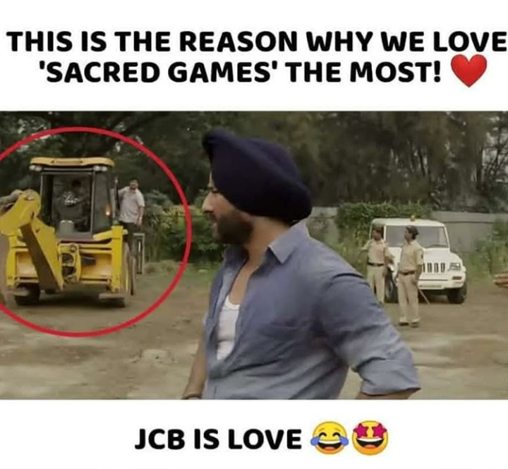 JCB Khudai Viral Memes - BaBa