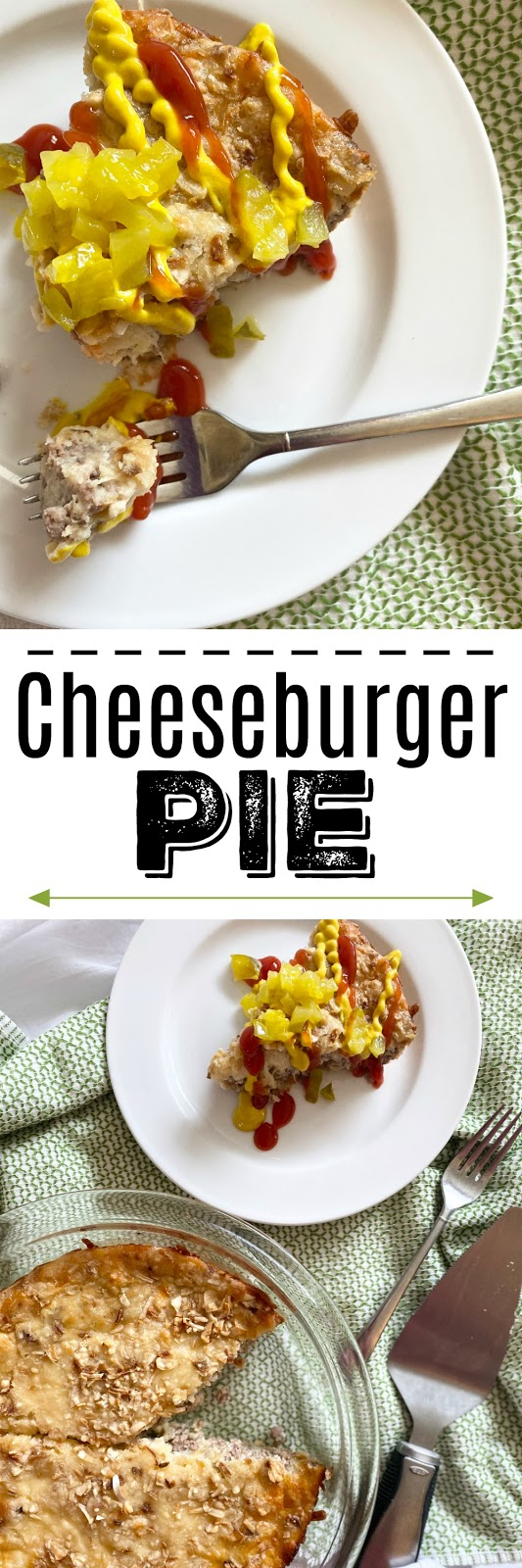 Cheeseburger Pie #12daysofholidaygiveaways