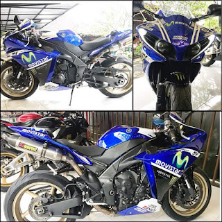 Forsale Used Yamaha R1 Yzf-R1, 1000cc, 2014, blue, new look, TCS (traction control system)