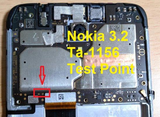 ازالة قفل frp لجهاز Nokia 3.2 TA-1156 بوضع EDL بالتيست بوينت