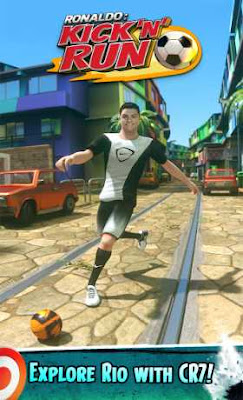 Cristiano Ronaldo: KicknRun Apk v1.0.17 (Mod Money) Full Version