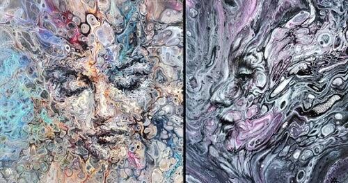 00-Acrylic-Portrait-Liz-Y-Ahmet-www-designstack-co