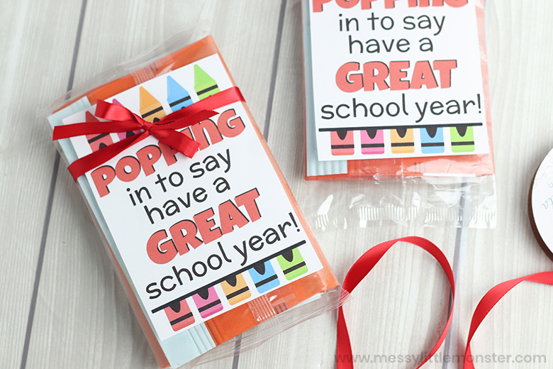 Student gifts from teacher