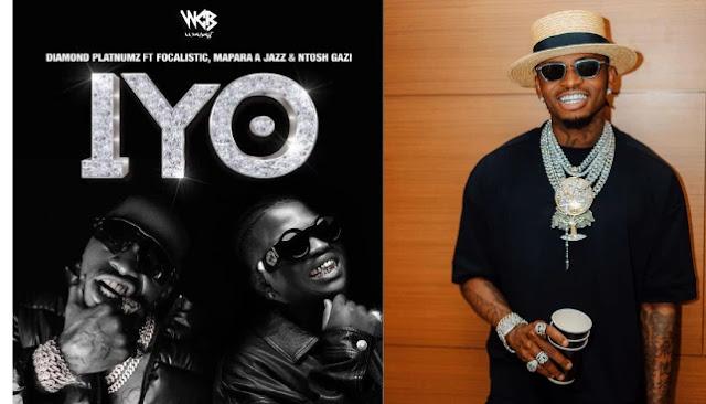 Diamond Platnumz breaks own record as #IYO Video hits 100K in 38 Minutes & 200K in 1 hour