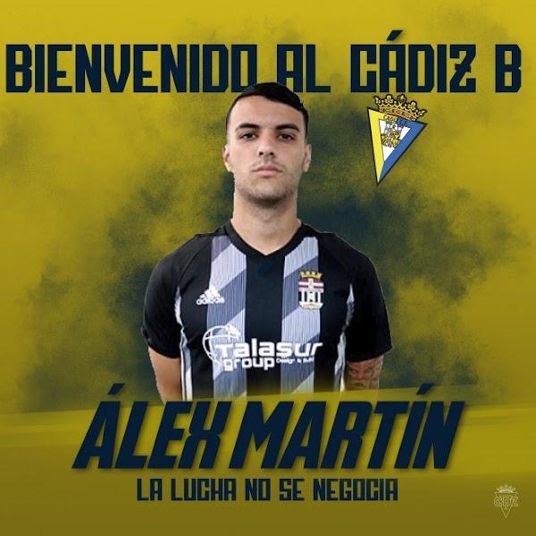 Oficial: Cádiz B, firma Álex Martín
