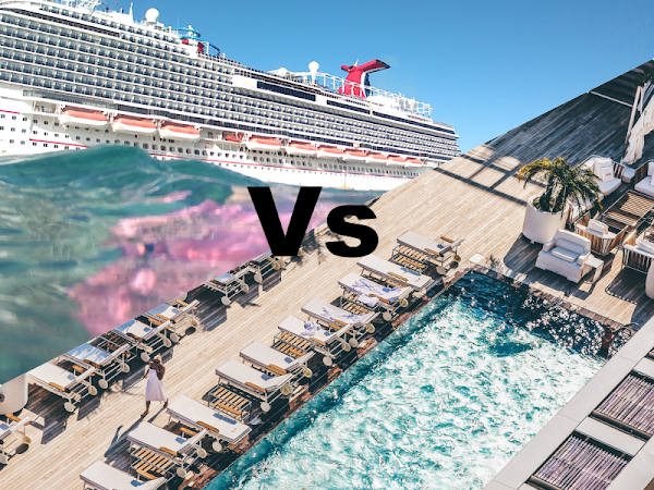 A Cruise vs An All-Inclusive Holiday