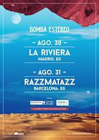 Conciertos de Bomba Estéreo en Madrid y Barcelona 2017