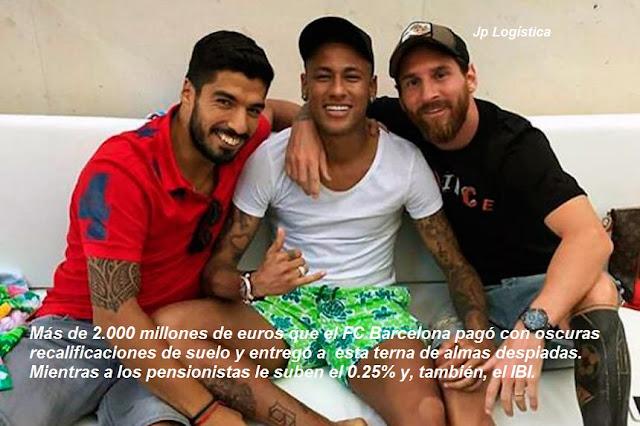 El FC Barcelona puede pagar a este tridente; España, no