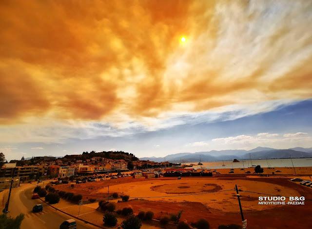 Τι είναι το νέφος pyrocumulus που κάλυψε την Αργολίδα από τη φωτιά στις Κεχριές (βίντεο)