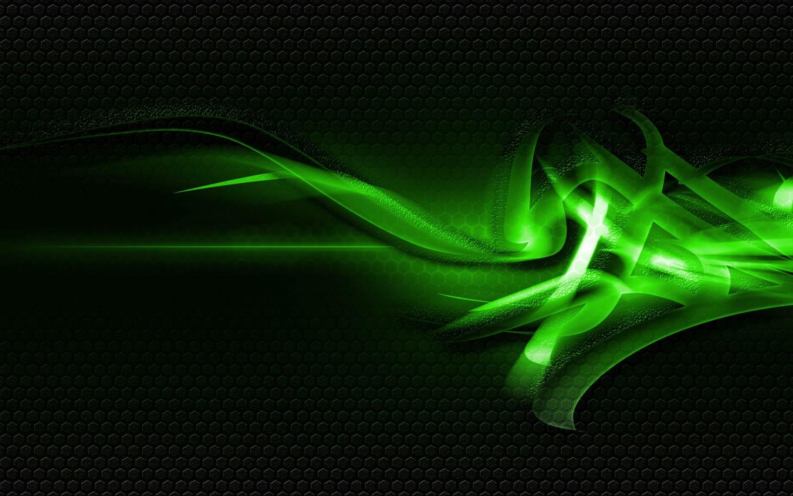 description green abstract hd - photo #1