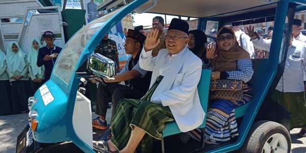 Netizen Tunggu Janji Ma'ruf Amin soal Mobil Esemka