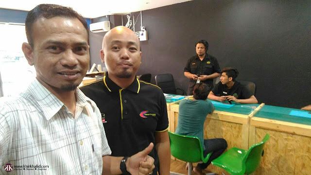 Afzal Sukasuki, Khir Khalid, Blogger Malaysia,