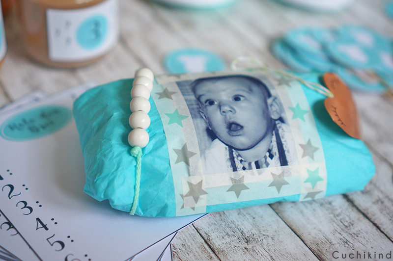 babyshower party in mint mit printables cuchikind. Black Bedroom Furniture Sets. Home Design Ideas