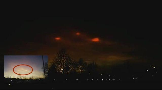 Strange lights in the sky over the Netherlands  Strange%2Blights%2Bsky%2Bnetherlands