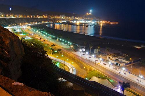 Playas Turisticas de Lima Perú