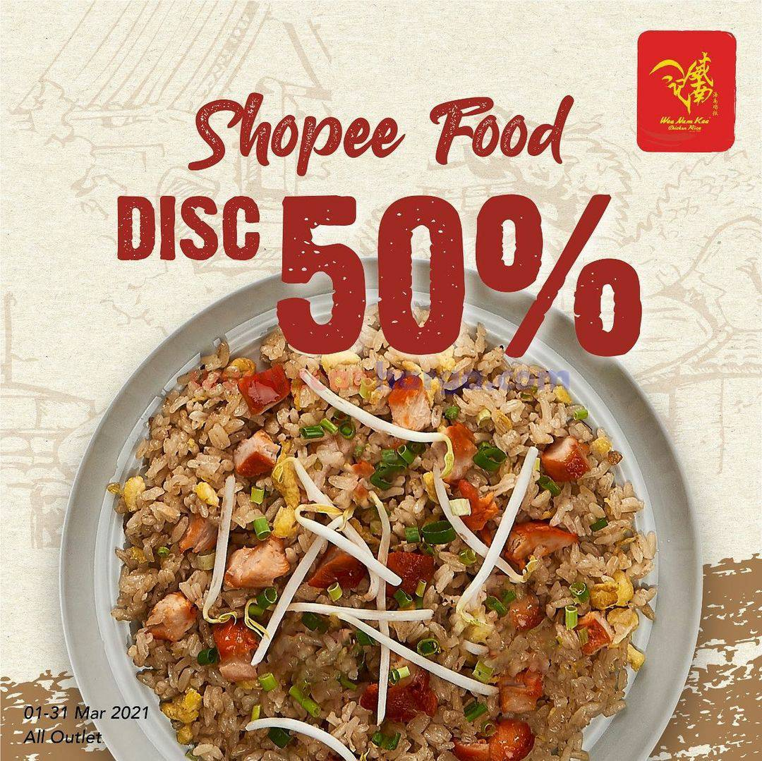 WEE NAM KEE Promo DISKON 50% via SHOPEE FOOD
