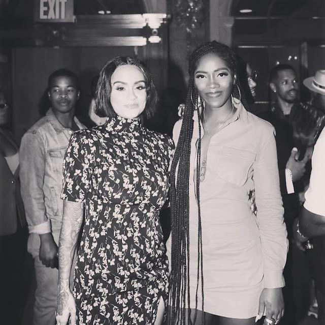 #NYFW - Tiwa Savage keeping things Simple & Classy at New York Fashion Week