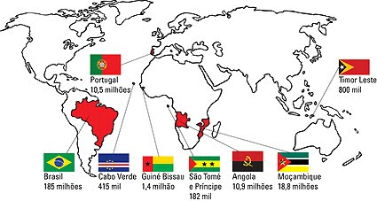 mapa países lusófonos Embaixada da Rep. Guiné Bissau no Brasil: Comércio do Brasil  mapa países lusófonos
