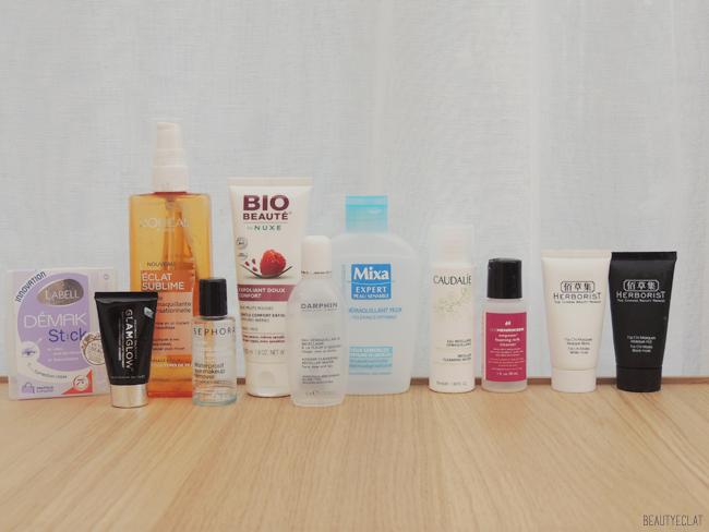 produits termines revue avis test maquillage soin